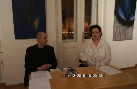 Szántó T. Gáborral Juhász Katalin beszélget