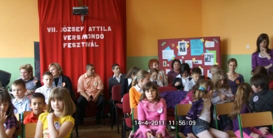 VII. József Attila Versmondó-fesztivál,  Nagyszarva