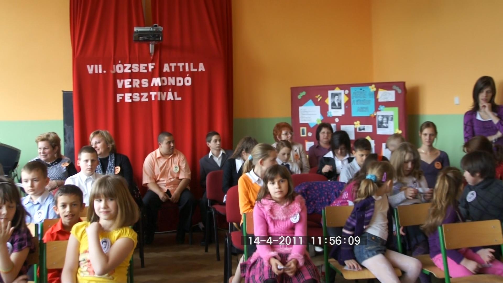 József Attila Versmondó-fesztivál Nagyszarva
