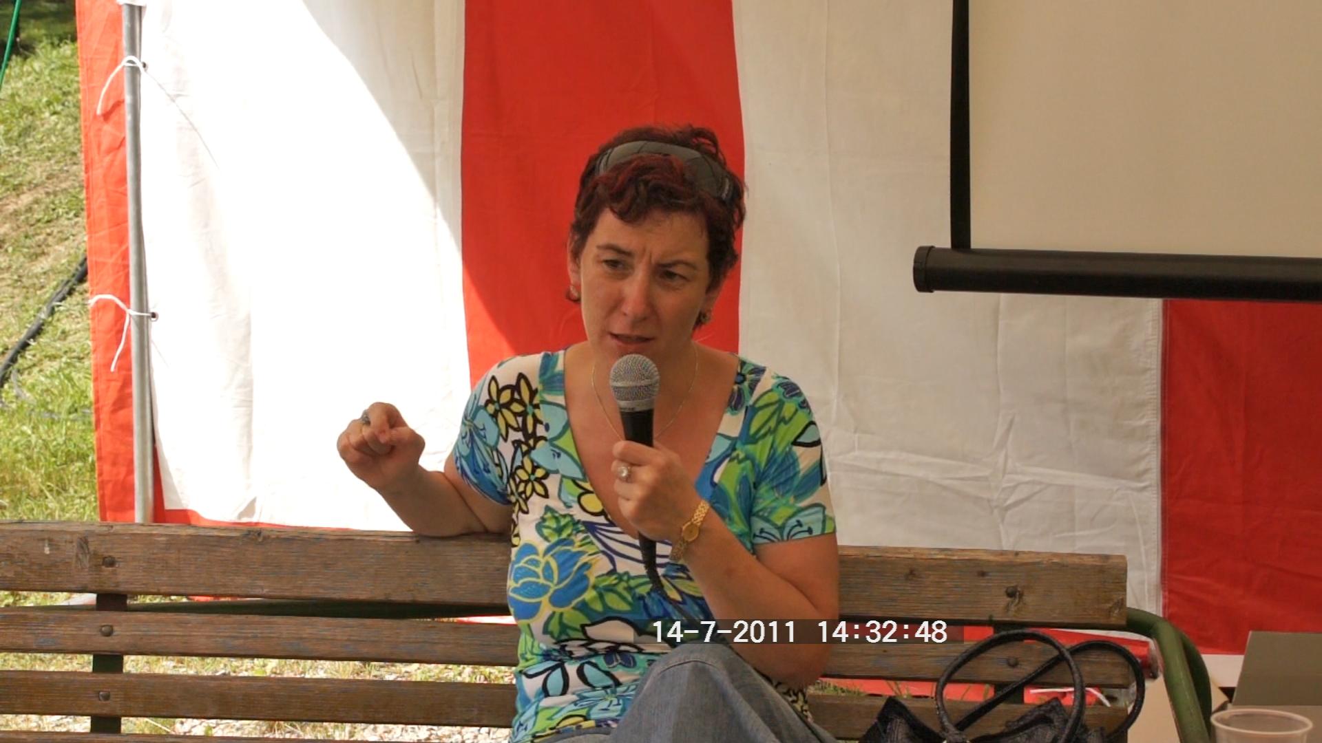 2011-07-14 DH tábor, Vrabec Mária