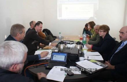 A Szlovákiai Magyarok Kerekasztala Koordinációs Bizottságának 2010 decemberi ülése