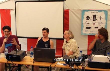 Gombaszögi DH Tábor – Ázsia Sátor, panelbeszélgetés